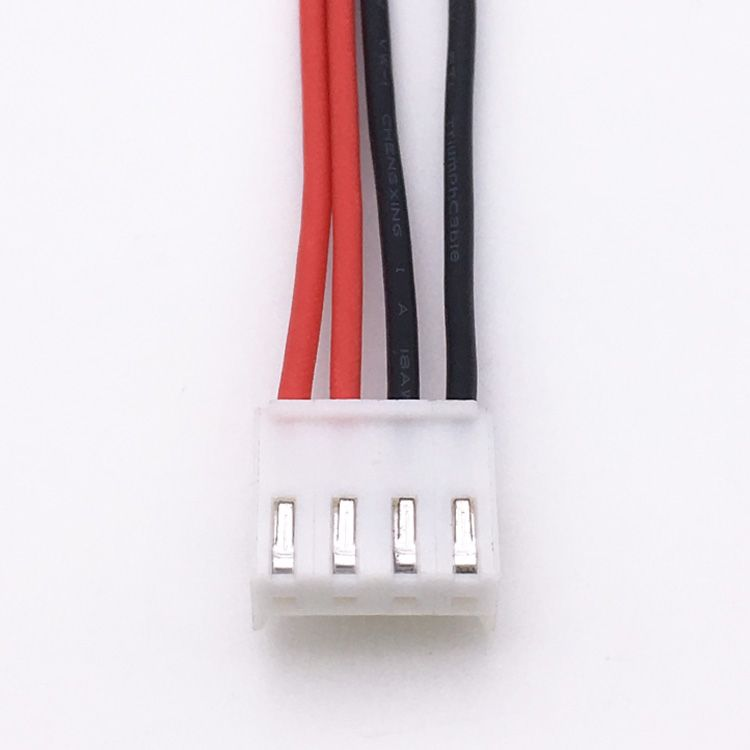 3 96 Mm Pitch 4 Pin Vh Connector Wire Harness Harness Connector Wire