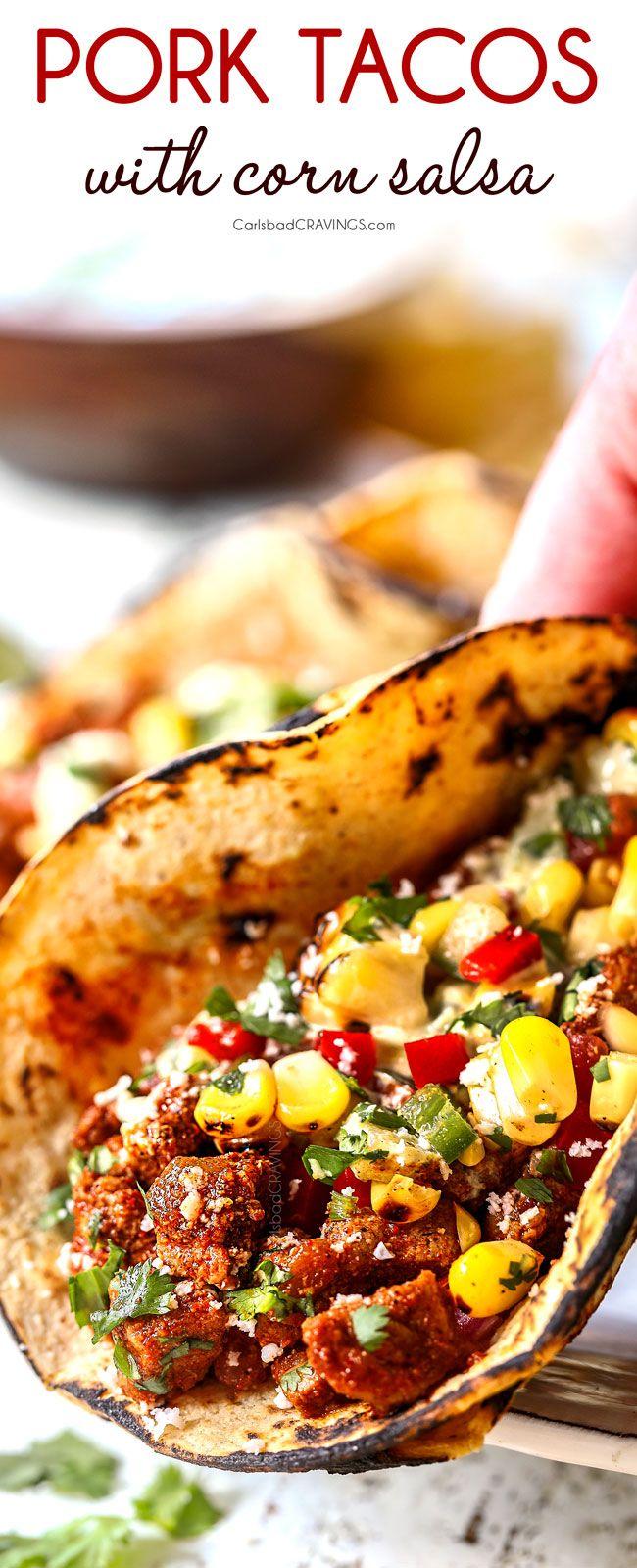 Pork Tacos #tacorecipes
