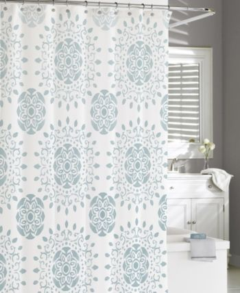 Cassadecor Cotton Printed Medallion Shower Curtain Reviews