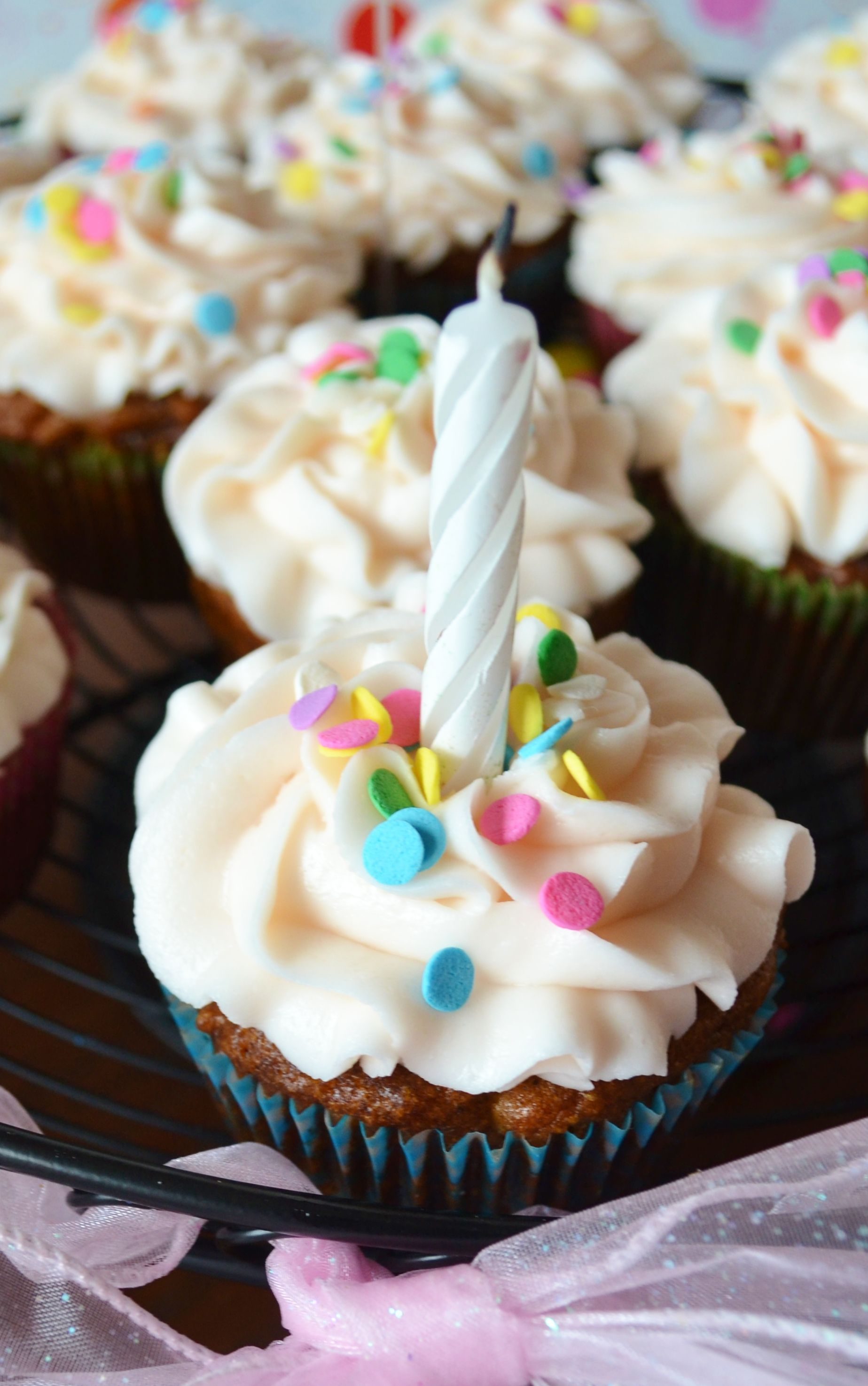 Baby Friendly Cupcakes Low Sugar Great For Cs First Birthday