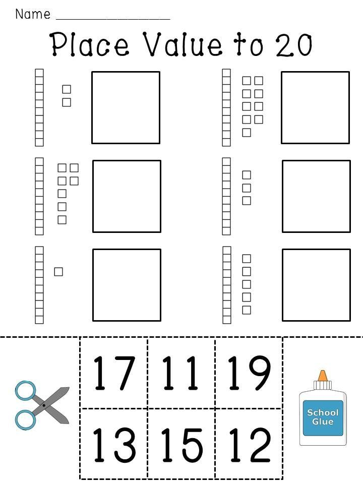 Place Value Worksheets Base 10 Blocks Numbers Practice