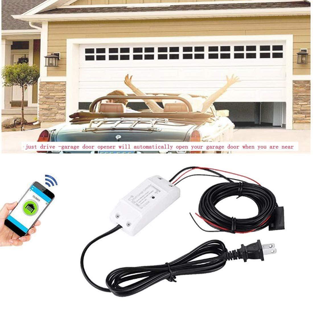 Smart Wi-Fi Alexa Garage Door Openers Remote control Smart