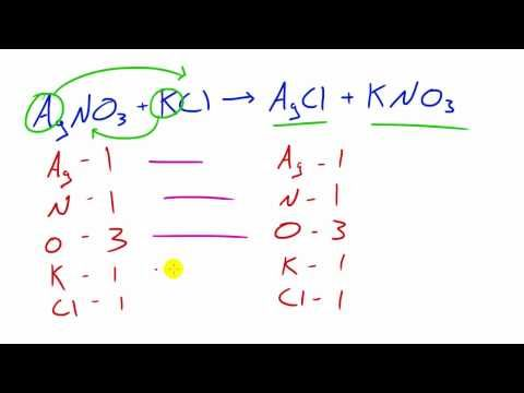 Chemistry Lesson - 35 - Double Displacement Reactions