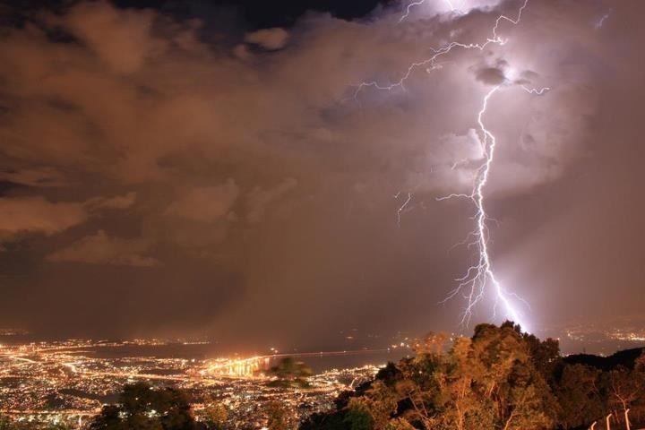Tempestade no RJ...