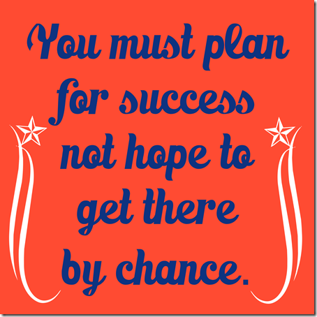Weekly Fitness and Nutrition Plan -  Make a plan for success!  You must plan for success not hope to...