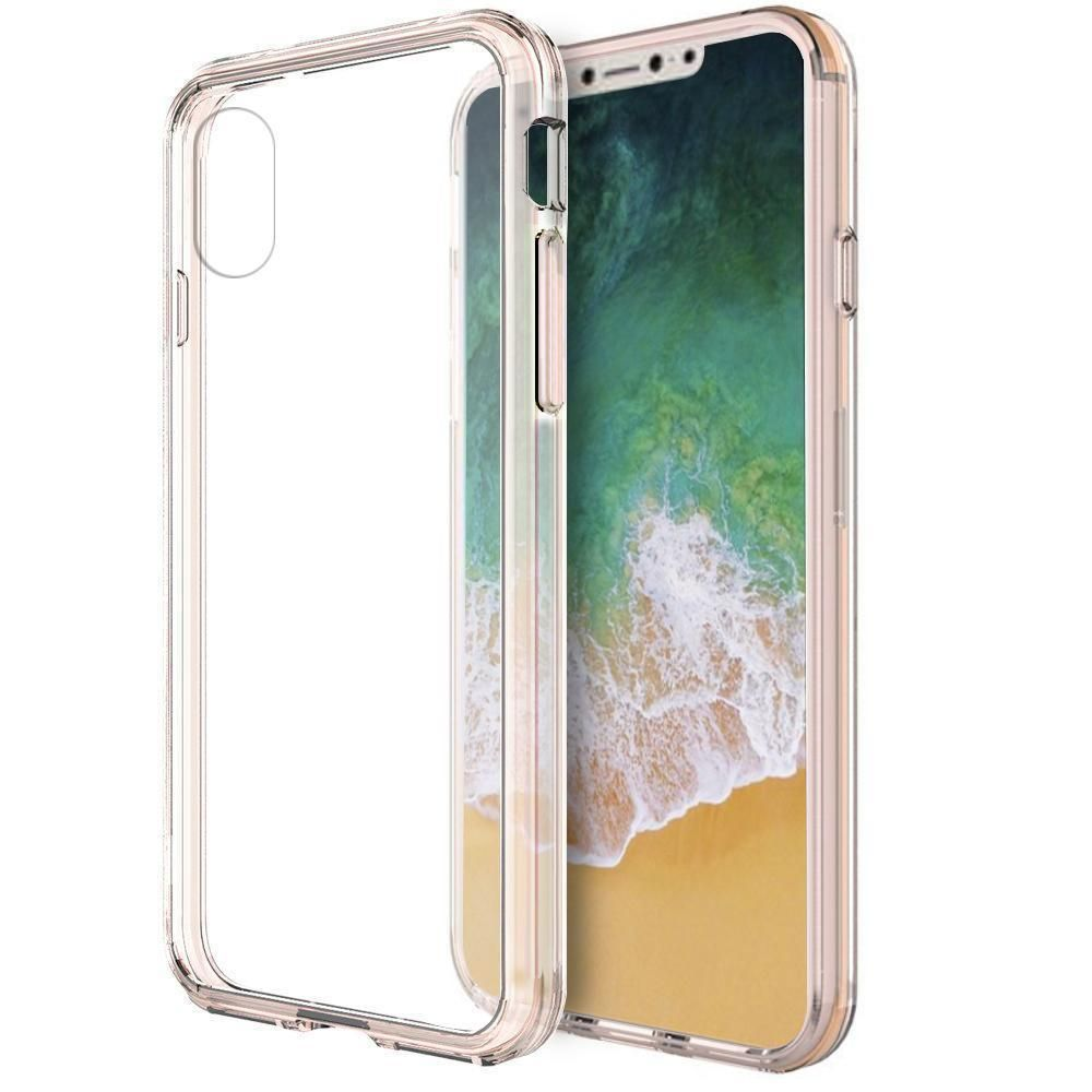 Fusion Candy TPU with Clear Acrylic Back iPhone XR