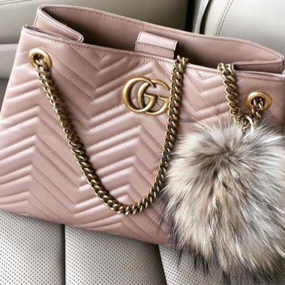 Pink Gucci GG Marmont Matelasse Shoulder Bag 453569.  Gucci  Handbags d7677a62180b0
