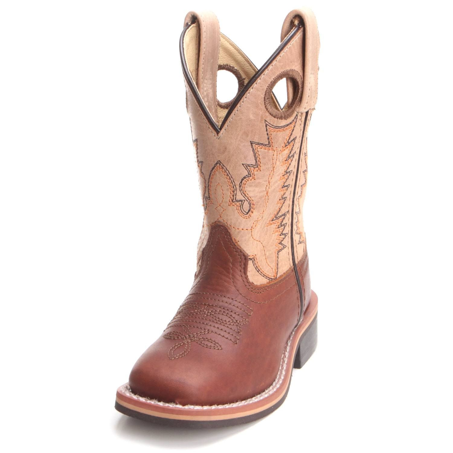 79095811341 Smoky Mountain Childrens Unisex Cowboy Boots Tan 3663C in 2019 ...