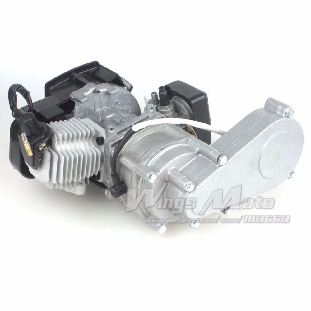 49cc 2 Stroke Pocket Mini Dirt Bike Atv Engine With Gear Box 14t T8f Of Motorcycle Sprocket Electric Star Version