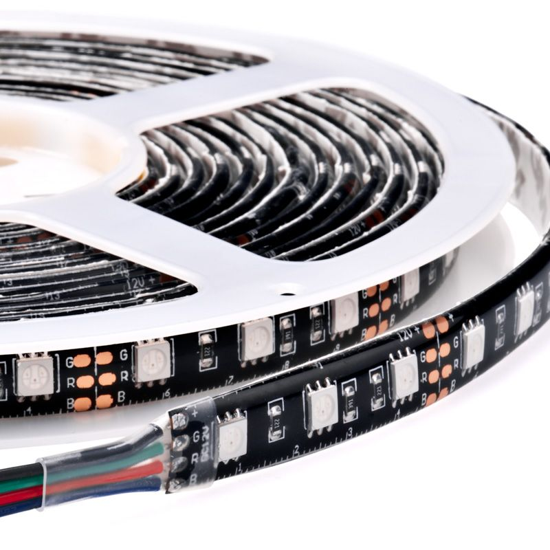 Outdoor Rgb Led Strip Lights Weatherproof 12v Led Tape Light 126 Lumens Ft In 2019 Car Lighting Rgb Led Strip Lights Flexible Led Strip Lights Led Li