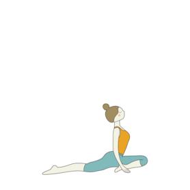 half pigeon pose yoga ardha kapotasana