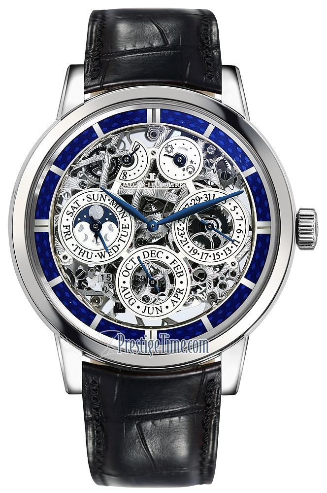 a80ca893b3d Jaeger LeCoultre Master Grande Tradition Perpetual Calendar Skeleton ...