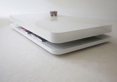 Minimalistic coffee table by rknl tavolino da caff for Mobili contemporanei moderni