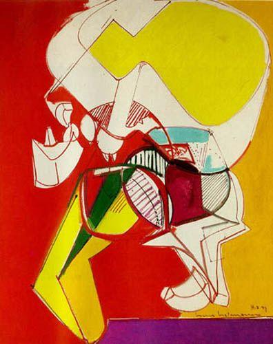 Exaltment By Hans Hofmann 1947 Oil On Canvas Art Cubism Art
