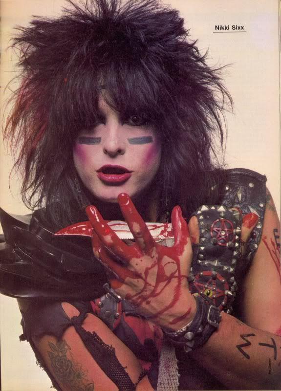 Nikki Sixx 1983