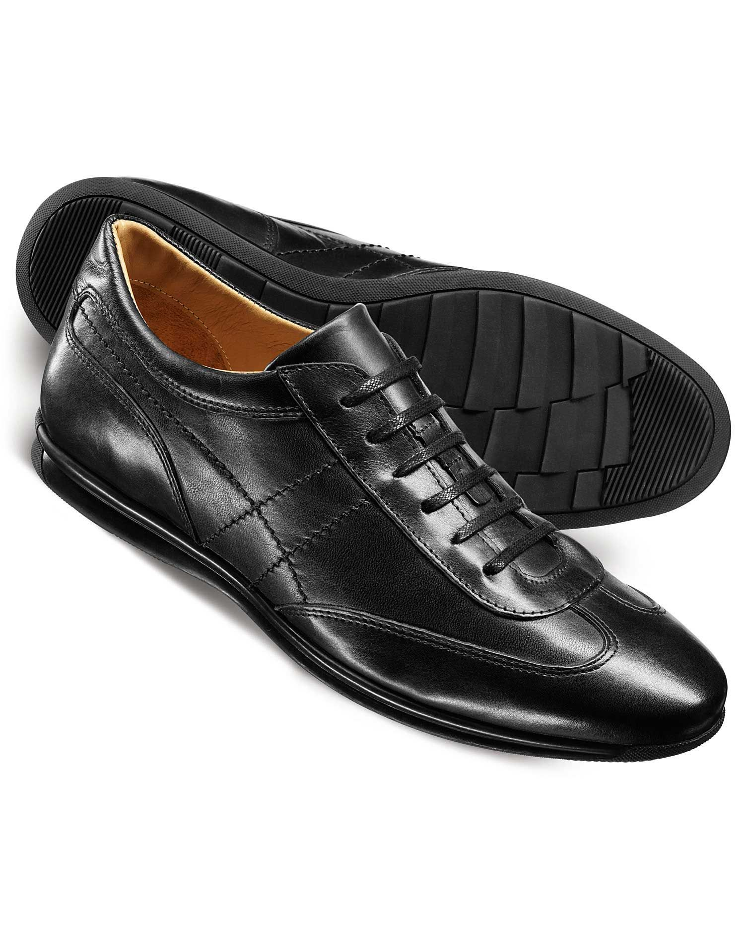 Black Lansdowne trainers | Business casual sneakers