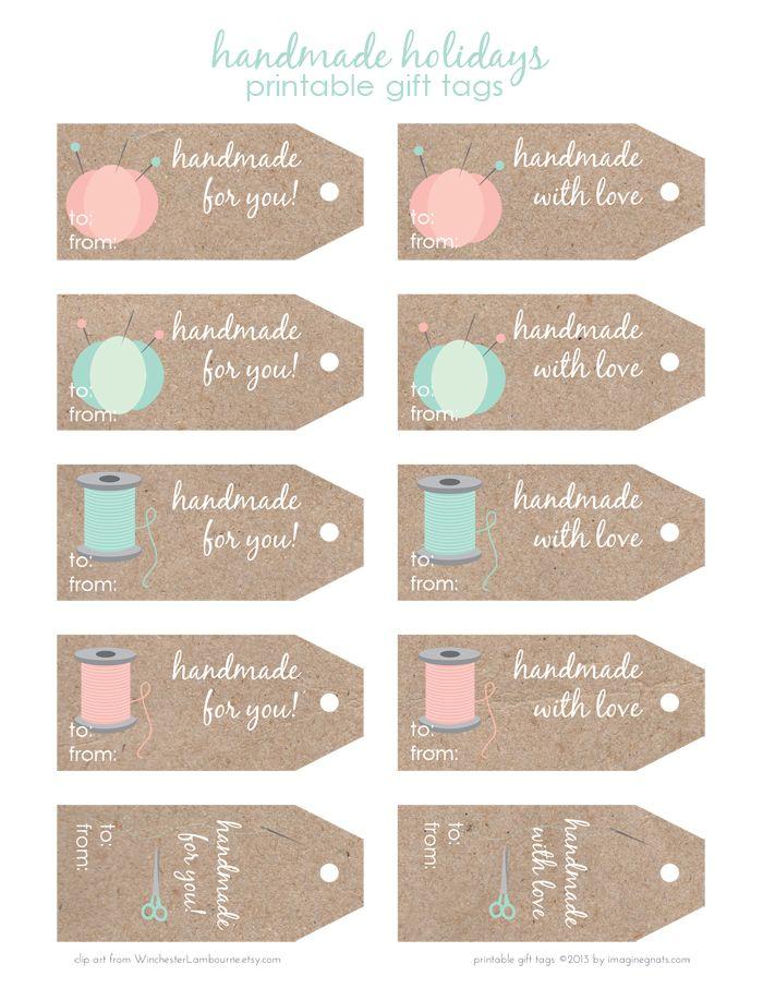 labels handmade etiketten pinterest giveaway ausdrucken und tags. Black Bedroom Furniture Sets. Home Design Ideas