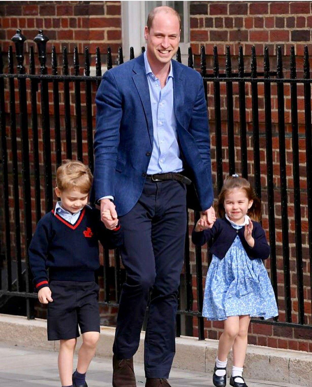 4/23/2018 Prince William With Prince George And Princess