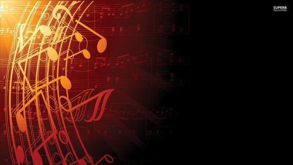 Music Notes Wallpaper Hd In 2019 Music Backgrounds Music