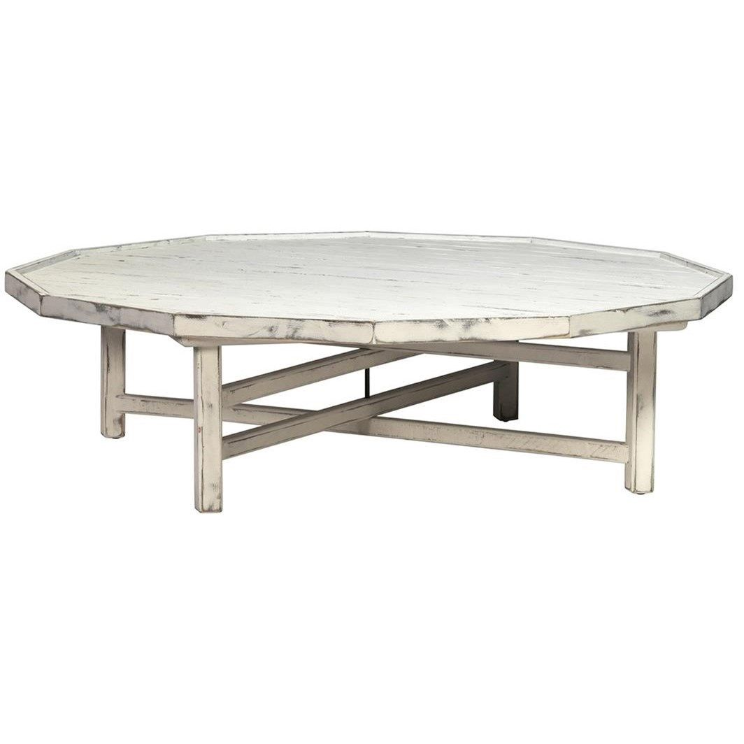 Kilmaine Distressed Coffee Table By Dovetail Furniture