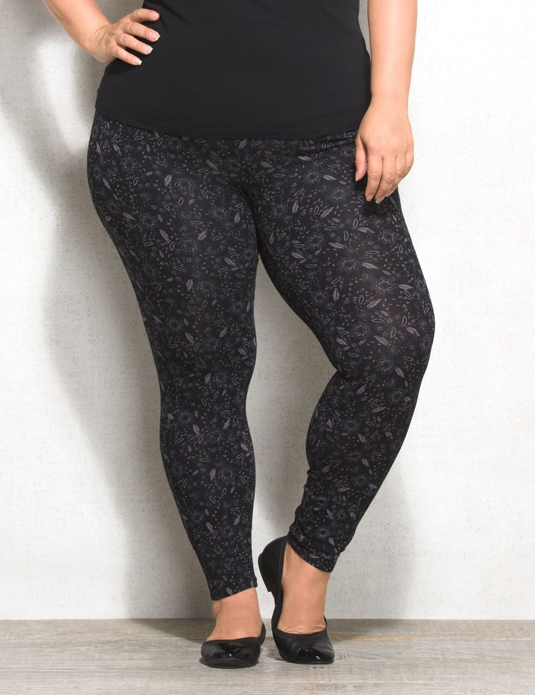 cc1bb4dcecc993 Feather leggings Dress Barn Plus Size Printed Leggings, Print Leggings, Big  Girl Clothes,