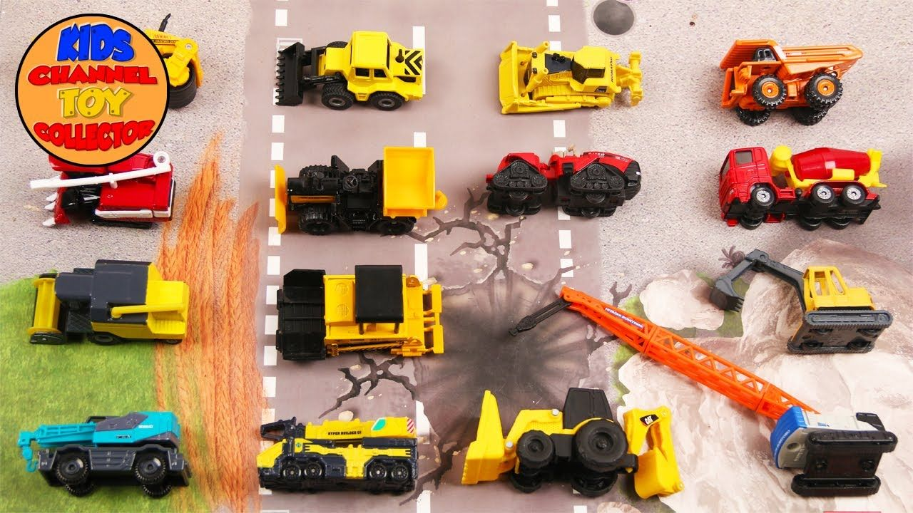 Learn Construction Vehicles For Kids Children Toddlers Babies Kids Video Dump Truck Excavator Kidschannelt Super Healthy Recipes Healthy Foods To Eat Kids