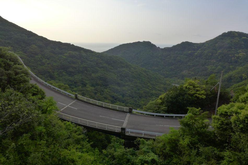 minamiawa-sun line in Tokushima prefecture