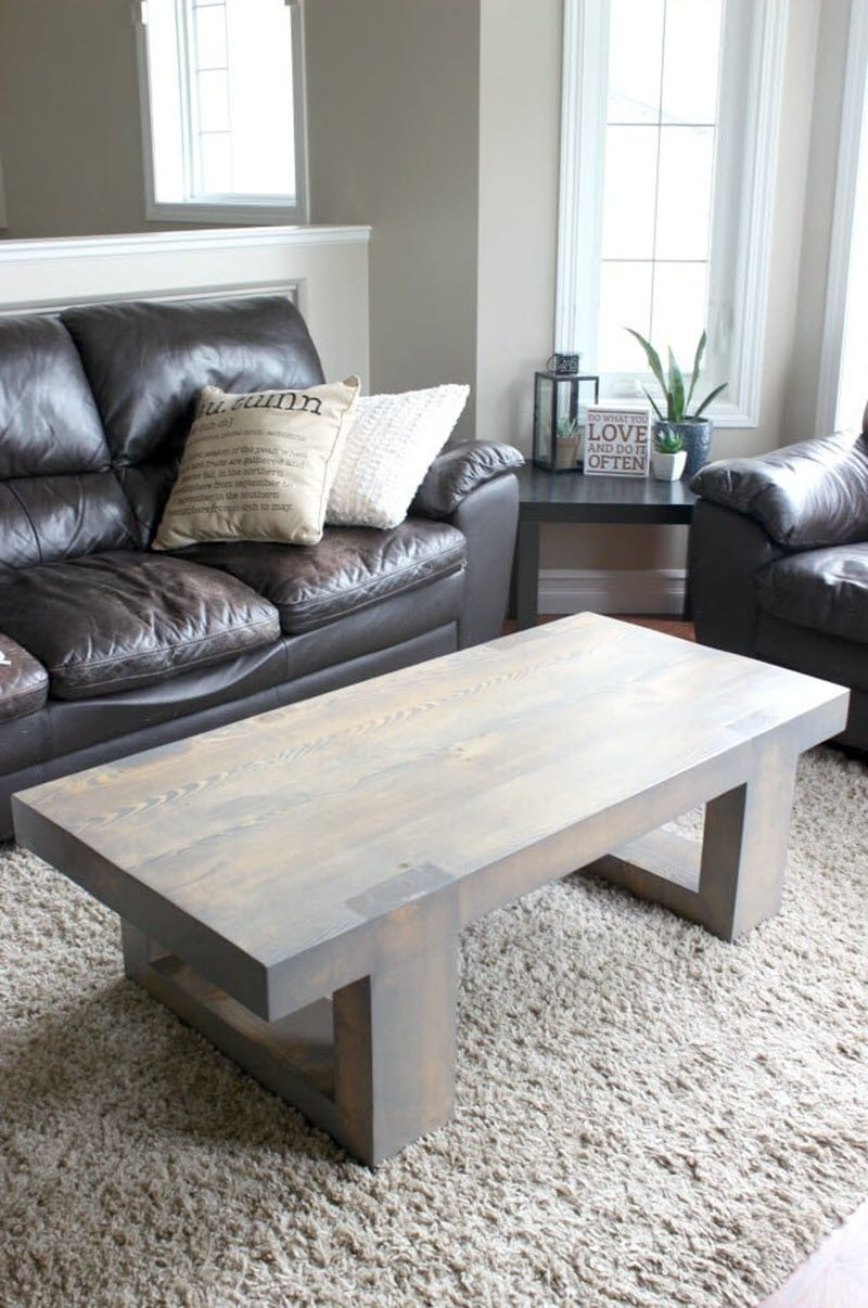 21 Unique Diy Coffee Tables Ideas And Plans Coffee Table Diy Coffee Table Coffee Table Wood