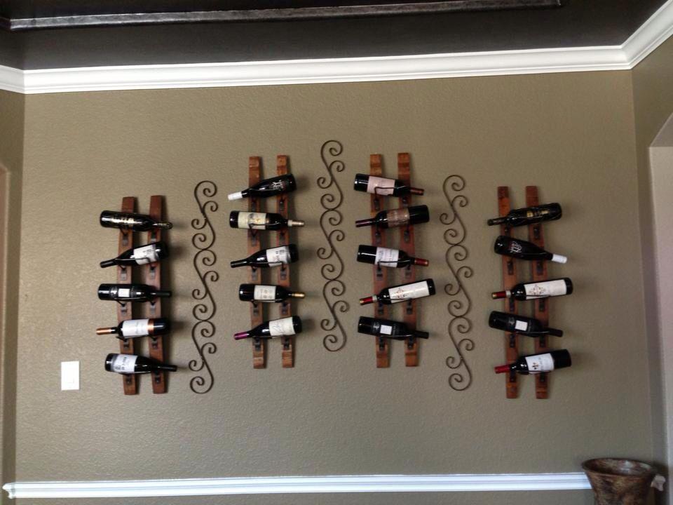 My Wine wall...I did it!
