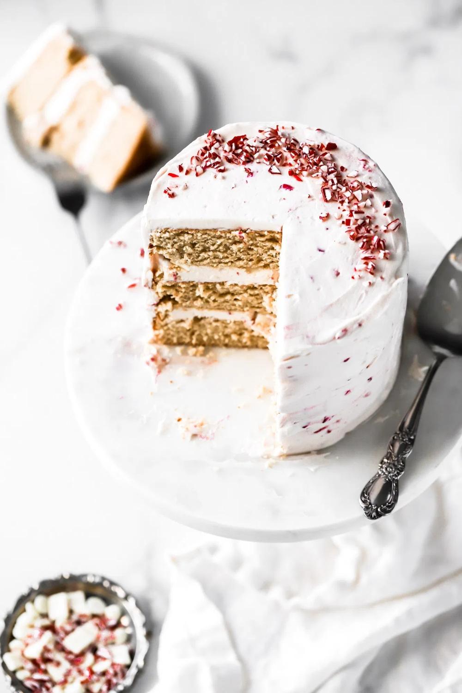 Peppermint White Chocolate Mocha Cake Baran Bakery in