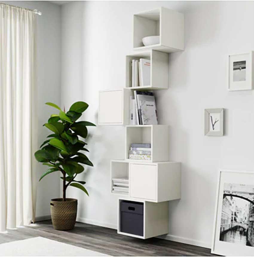 H 16 x l 16 x p 10 cm mensola rettangolare: مدخل رد فعل جنين Mensole Soggiorno Ikea Amazon Bossforum Org