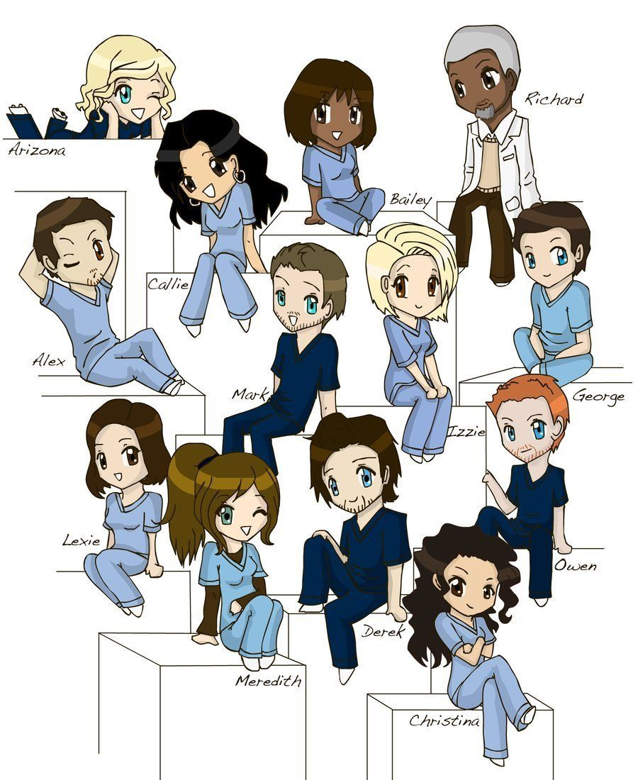 Grey\'s Anatomy- - greys-anatomy Fan Art | Greys Anatomy | Pinterest ...