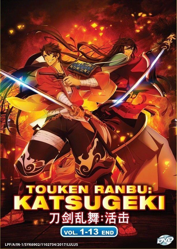 Dvd Anime Touken Ranbu Katsugeki Complete Series (113