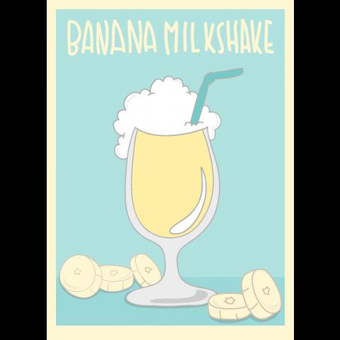 Banana Milkshake バナナミルクシェイクフルーツアメカジ
