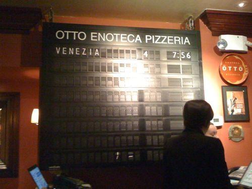 Otto Enoteca Pizzeria, New York City, New York State, United States