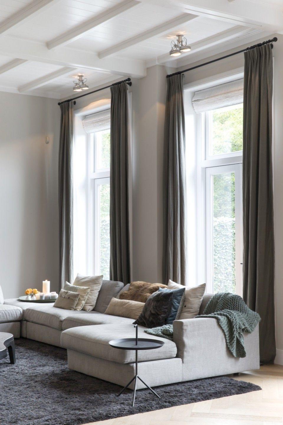 Pin von Alexandra Sora auf Interieur   Pinterest   Rideaux salon ...