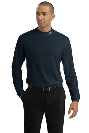 04877ad7701 Nike Golf Dri-FIT Interlock Long Sleeve Mock Turtleneck - 203703 ...