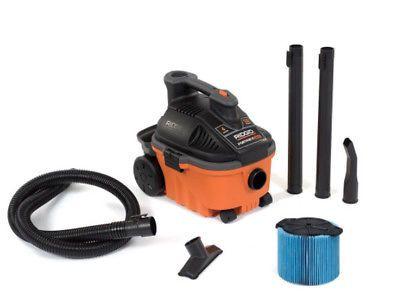 New Ridgid Tools 4 Gallon Wet Dry Vac Model Wd40700 5 Hp Portable Shop Vaccum Wet Dry Vacuum Wet Dry Vac Portable Vacuum