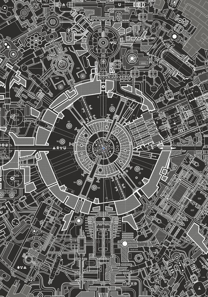 Wow, This Poster Of The Death Star Blueprints Is Insane Death star - best of blueprint entertainment canada