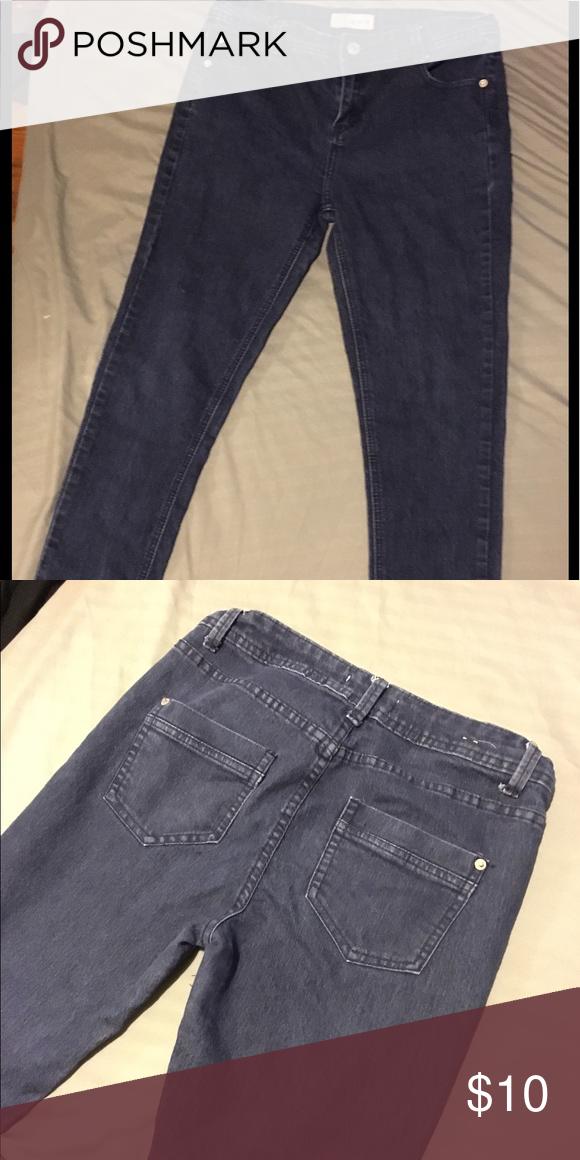 Dark Blue jeans skinny size 6 Cottonon Dark Blue jeans skinny size 6 Cottonon Cotton On Jeans Skinny