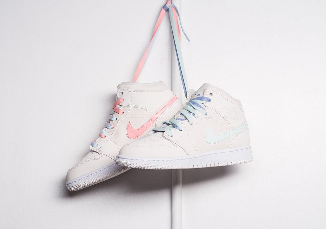 huge selection of 97faa bb9f8 Air Jordan 1 Mid GG Phantom 555112-035 Available Now  thatdope  sneakers   luxury  dope  fashion  trending