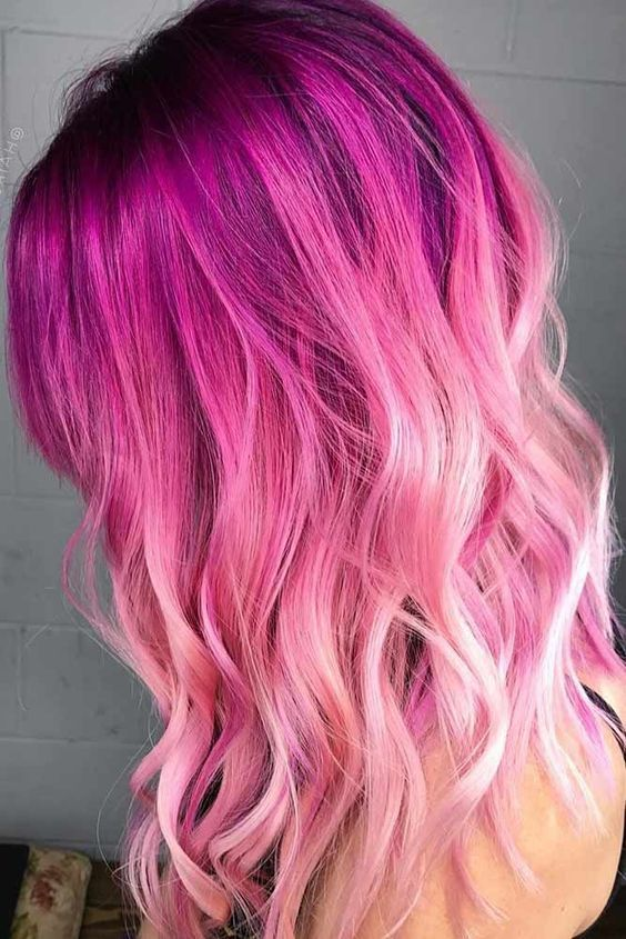 Trendy Ombre Hair Color Ideas Kids Hair Color Hair Styles Pink Ombre Hair