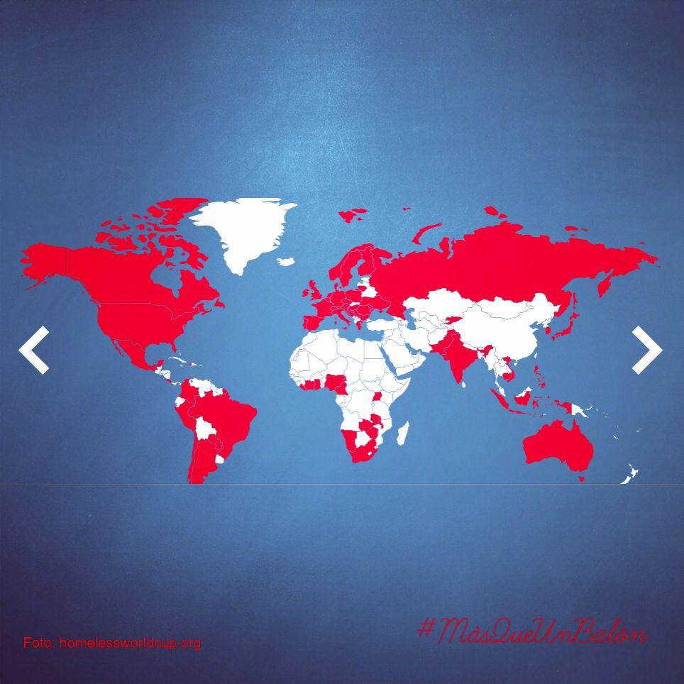 ¿Conoces la Homeless World Cup? Son 70 naciones,  250,000 jugadores, 365 días al año.  Gente que ha vivido en las calles, tiene una nueva oportunidad gracias a un balón y al fútbol. https://www.homelessworldcup.org/  #cambios #vida #fútbol #pasión #MásQueUnBalón