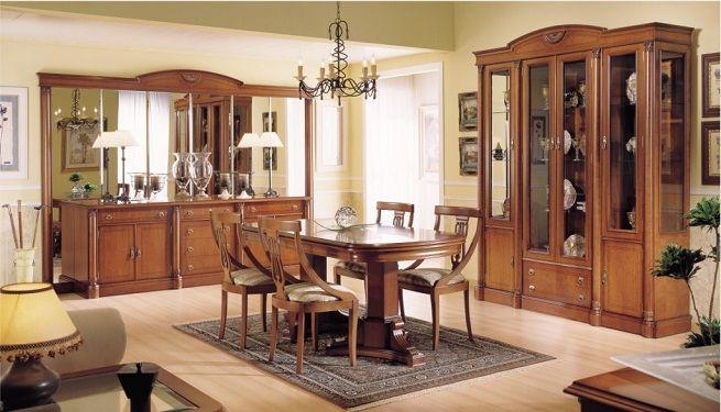 Decoración de comedores clásicos | muebles | Dining room, China ...