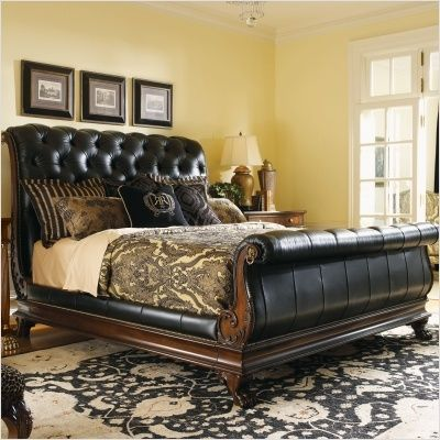 Not As Masculine But A Killer Sleigh Bed Would Be Nice Future