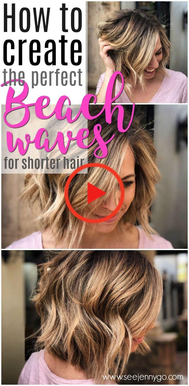 Easy Beach Waves for Short Hair - See Mama Go