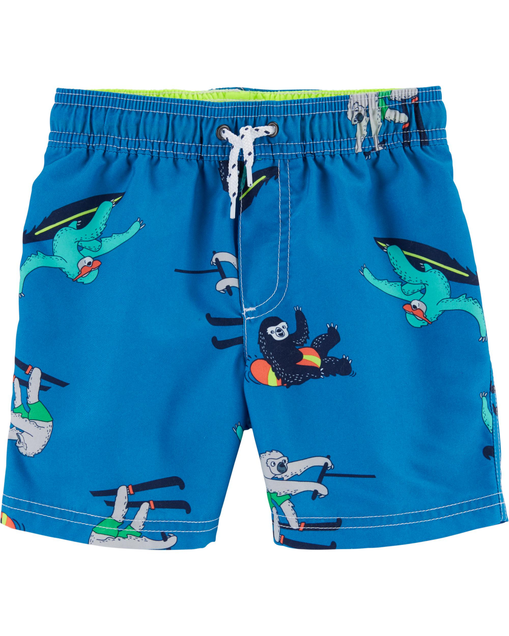 Toddler Boys Two Piece Swimsuit Kids Swim Set Short Sleeve Bathing Suit Trunks and Shirt
