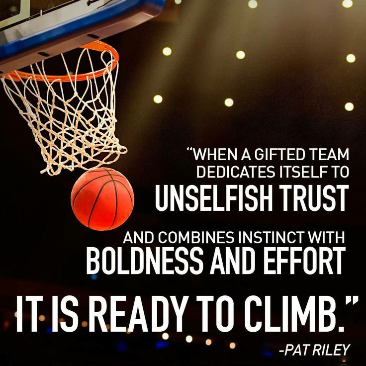 PatRiley Basketball Inspirational sports quotes