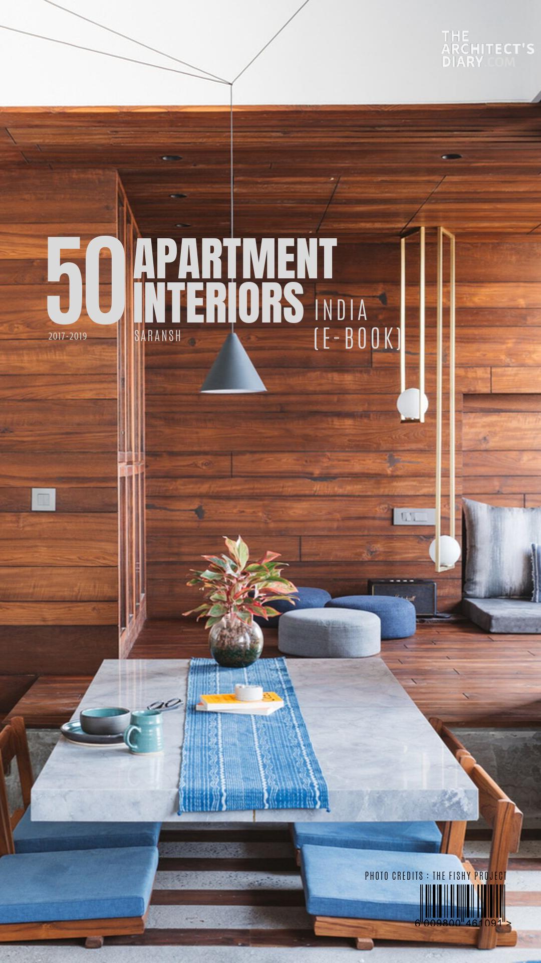 Residential Interior Design: 50 Apartment Interiors In India (E-BOOK In 2020