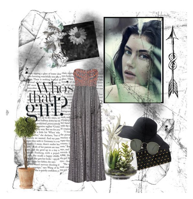 """""""Nature"""" by a-wanderlust ❤ liked on Polyvore featuring Post-It, Alexander McQueen, Peter Grimm, Threshold, maurices, Ethan Allen, Ray-Ban and Kershaw"""